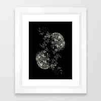 NiteBalloons v.5 Framed Art Print