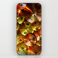 Cymbals fine art photography iPhone & iPod Skin