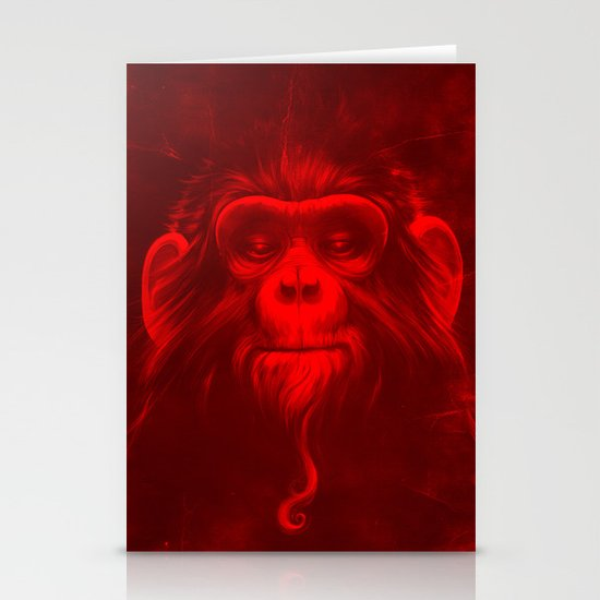 Twelfth Monkey Stationery Card