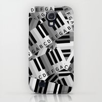 Galaxy S4 Cases featuring Piano Keys by mailboxdisco