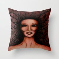 Radio Frequency  Throw Pillow