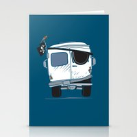 The Booty Wagon Stationery Cards