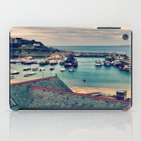 Grey Clouds Above The Fe… iPad Case