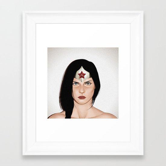 Diana.  Framed Art Print