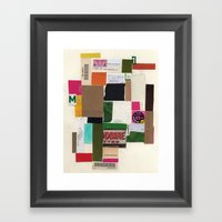 Daily Routine Framed Art Print