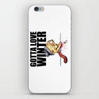 Gotta Love Winter iPhone & iPod Skin