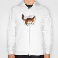 Calico Cat On Canvas Hoody