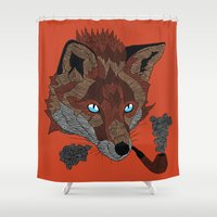 FOX&PIPE Shower Curtain