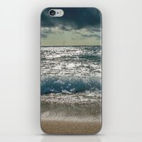 Just me and the Sea iPhone & iPod Skin