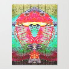 FUKUSHIMA FISHING Canvas Print