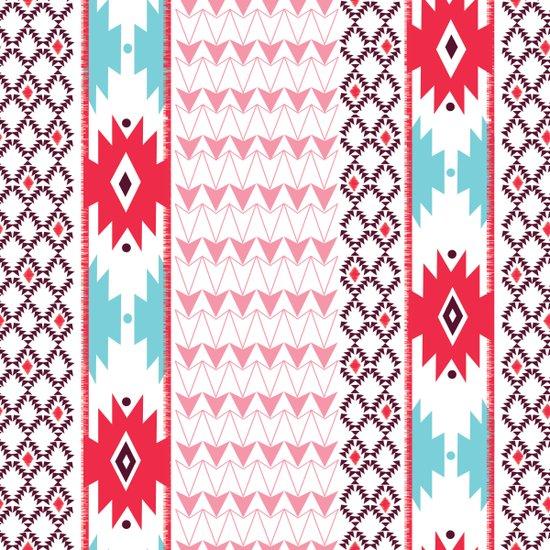 Navajo Glam Canvas Print