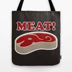 Meat! Tote Bag