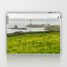 The lighthouse of highway 101 Laptop & iPad Skin