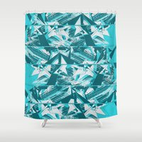 Disarrange  Shower Curtain