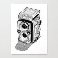 Rolleiflex Canvas Print