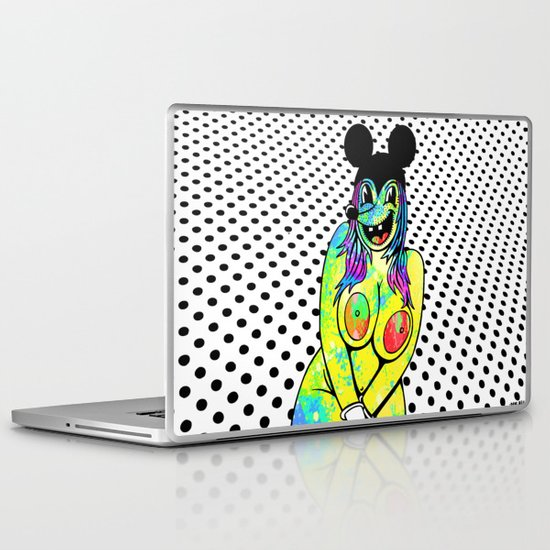PLUS SIZE NUDE. (Mouseketeers). Laptop & iPad Skin