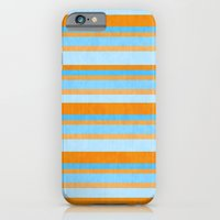 Something Fishy Stripes. iPhone 6 Slim Case