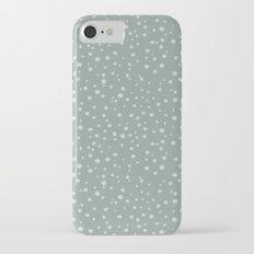 PolkaDots-Mint on Juniper Slim Case iPhone 7