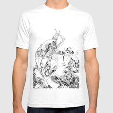 Parasomnia SMALL White Mens Fitted Tee