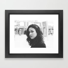 TAYLLA I Framed Art Print