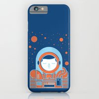 iPhone & iPod Case featuring Orange Space by Chase Kunz