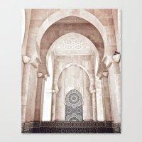 Moroccan archway Canvas Print