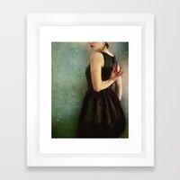 Undress Framed Art Print