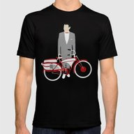 Pee Wee's Big Adventure  Mens Fitted Tee Black SMALL