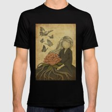 Fragranced SMALL Black Mens Fitted Tee