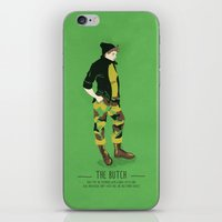 The Butch - A Poster Guide to Gay Stereotypes iPhone & iPod Skin