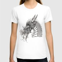 dragon T-shirts featuring Dragon by Elisa Camera