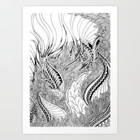 Enter The Forest Art Print