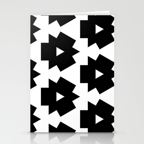 Meijer Black & White Stationery Card
