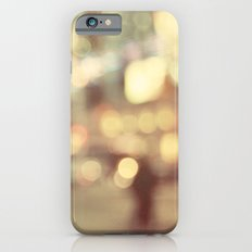 Bokeh in the City iPhone 6 Slim Case