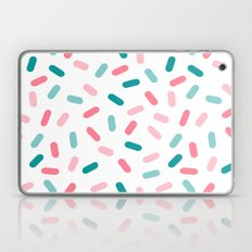 Head Rush - memphis throwback hipster style dot pill 1980s neon pastel palm springs socal surfer Laptop & iPad Skin