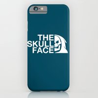 iPhone & iPod Case featuring The Skull Face by JoPruDuction Art