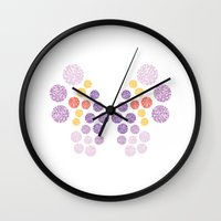 Vivillon Elegant Form Wall Clock