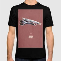 Mass Effect Mens Fitted Tee Black SMALL