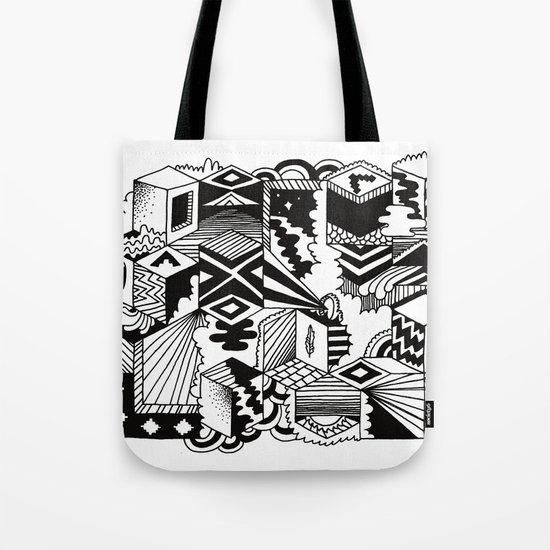 Cube-ular Tote Bag