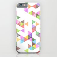 Technicolour Raindrops iPhone 6 Slim Case