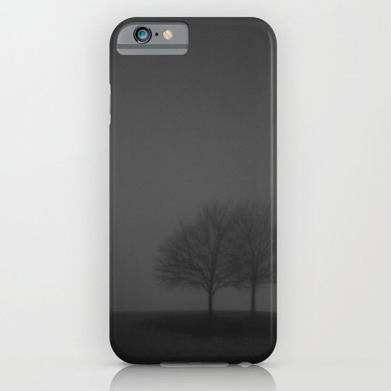 It was a dark and foggy night... iPhone & iPod Case