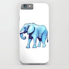 Elefante Blu iPhone 6 Slim Case