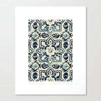 Tile Pattern - Portugues… Canvas Print