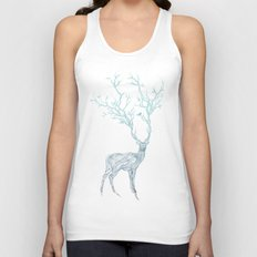 Blue Deer Unisex Tank Top