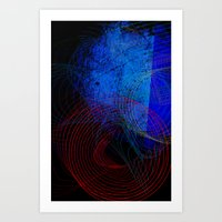 String Theory 03 Art Print