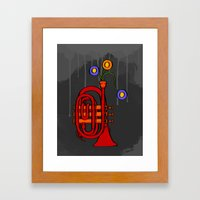 Happy To See My Pocket T… Framed Art Print