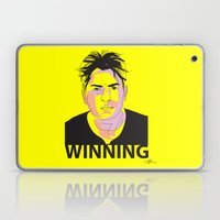 Charlie Sheen Winning_Ink Laptop & iPad Skin