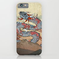 iPhone & iPod Case featuring Fire on the Mountain by Pat Butler