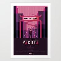 Yakuza Art Print