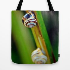 Climbing Up the Stalk Tote Bag